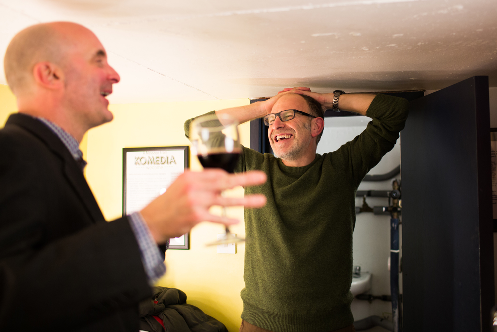 Simon Evans and Dan Evans  Sansar Komedia Event