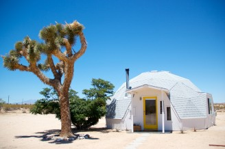 Dome in the Joshua Tree desert