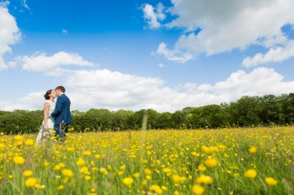 Sussex Buttercup Field Wedding Photography