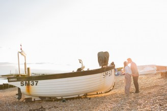 Engagement Shoot Eastbourne Beach