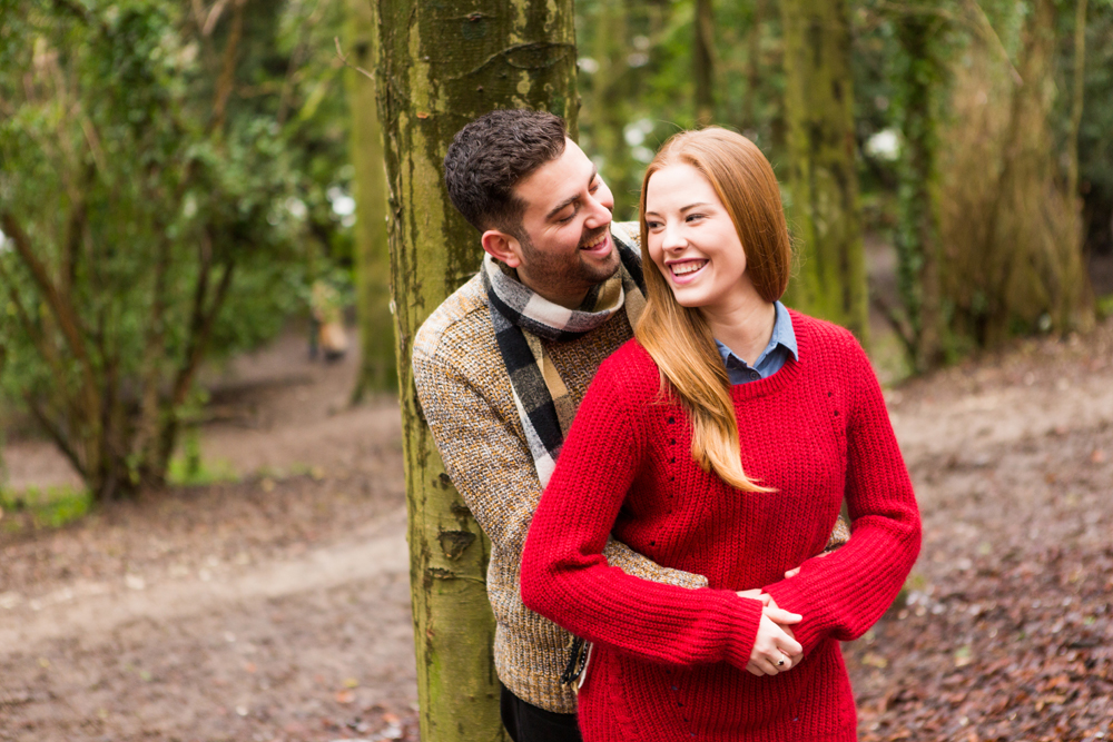 Stanmer Park engagement photography