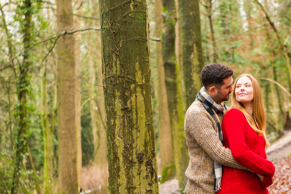 Stanmer Park Brighton Engagement Shoot