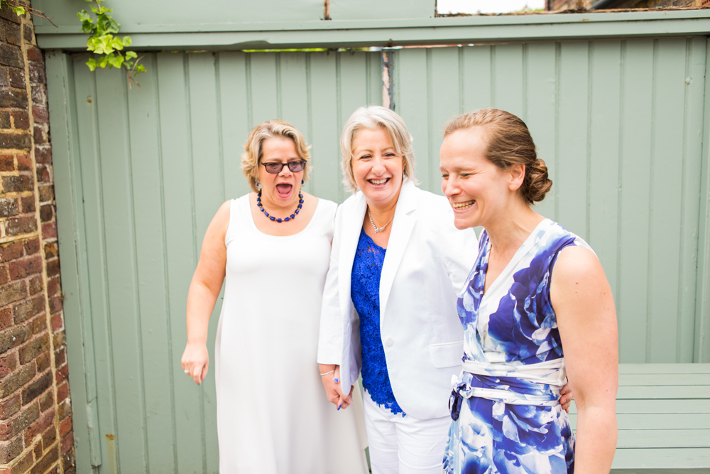 Laughing Connaught Pub Wedding