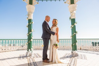 Wedding Dress Brighton Bandstand
