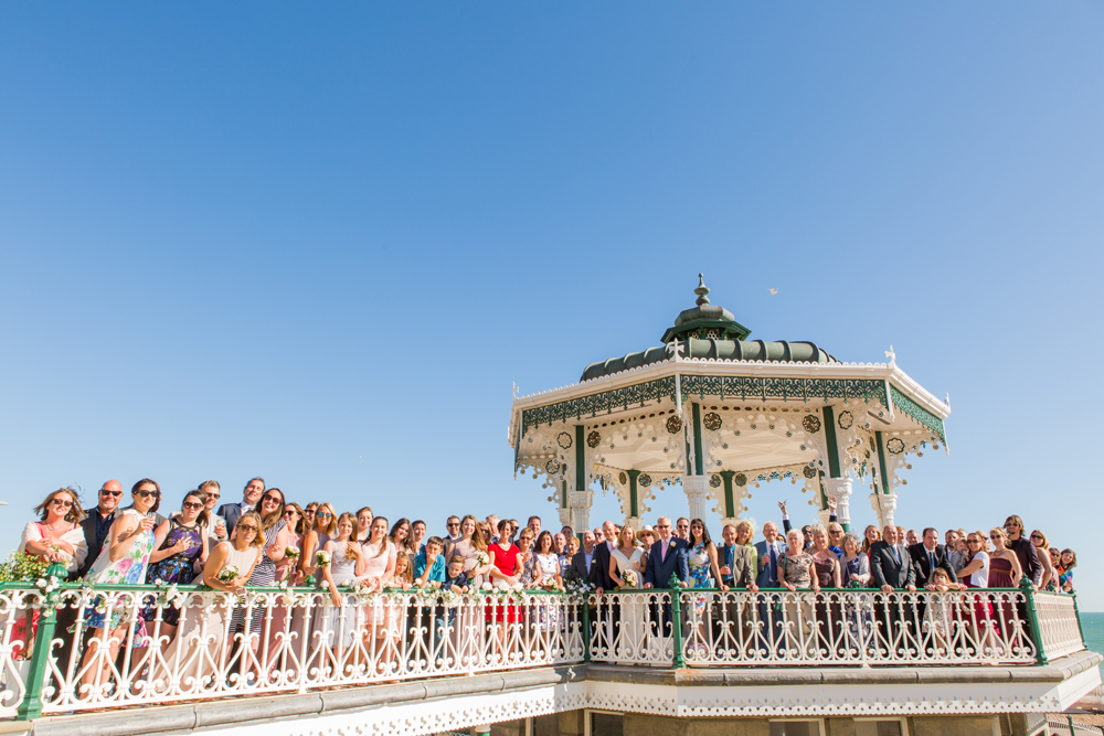 Brighton Bandstand Wedding Day