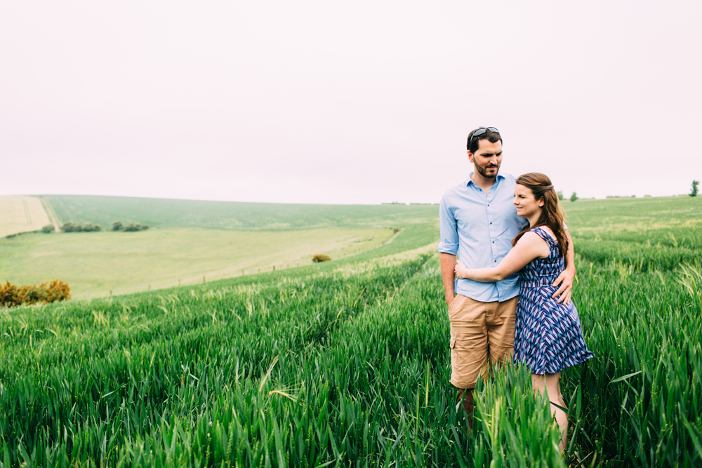Sussex Countryside Engagement Shoot