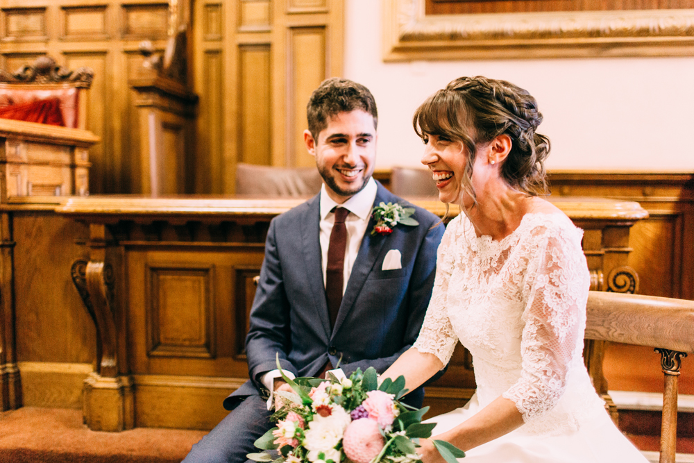 Chamber Room Brighton Town Hall Wedding