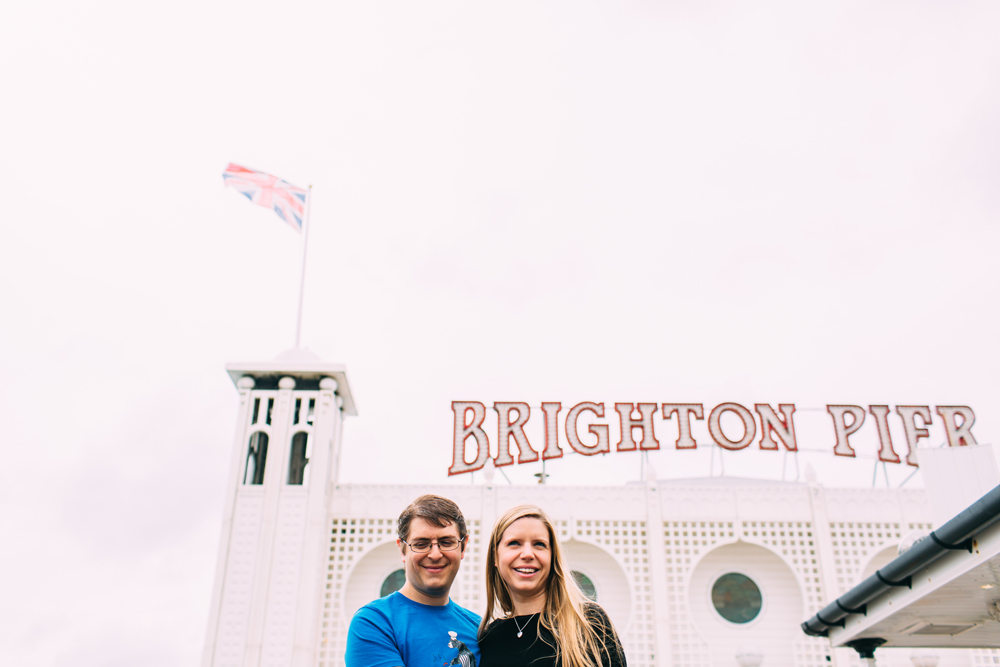 Brighton Pier Engagement Shoot