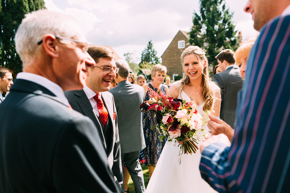 Wedding at Unitarian Church Ditchling