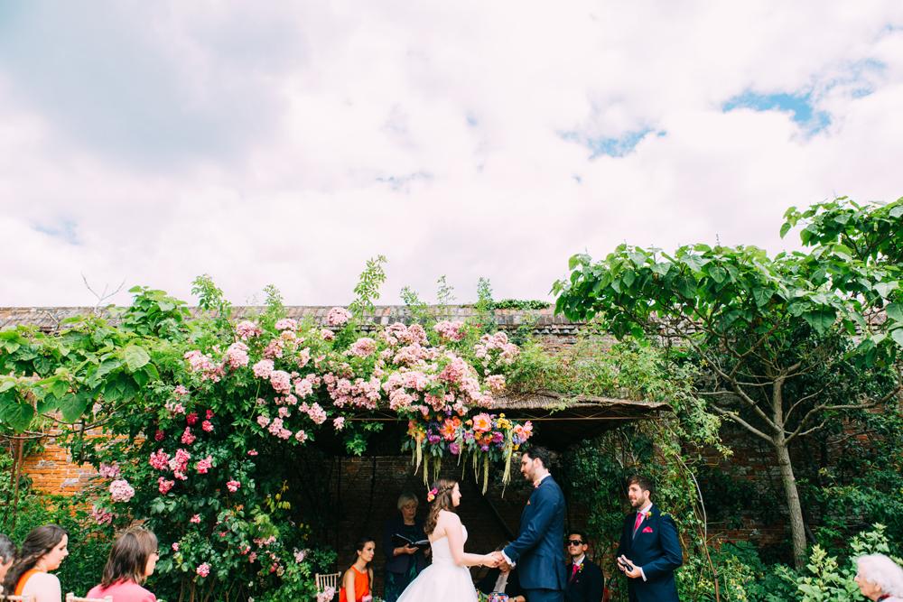 Walled Garden Cowdray Wedding Photographer