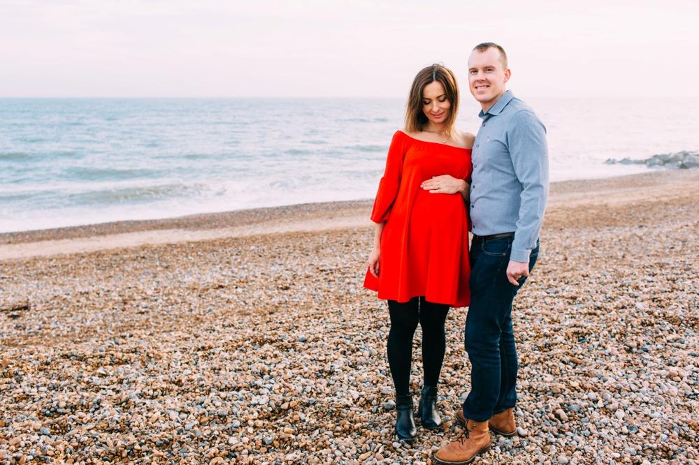 Pregnancy Photo Shoot Brighton Beach
