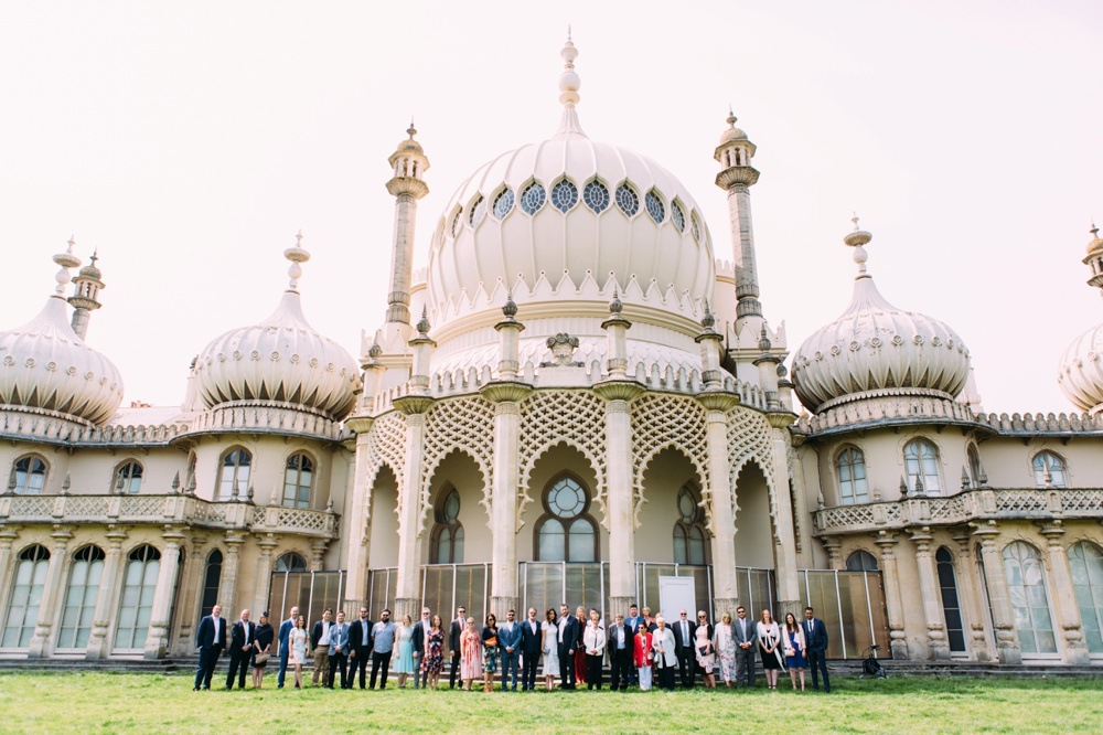 Brighton Wedding Day at The Pavilion