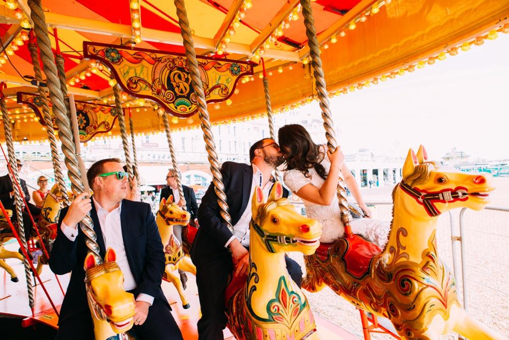 Brighton Wedding Day