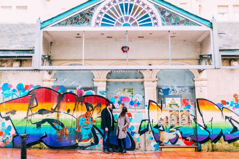 Rainy Brighton Photography Shoot