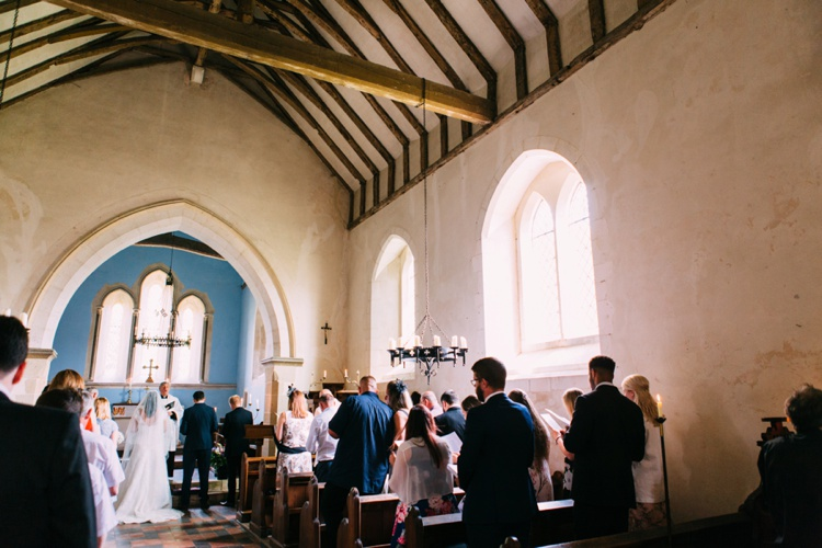 Arundel Wedding Ceremony at South Stoke Church