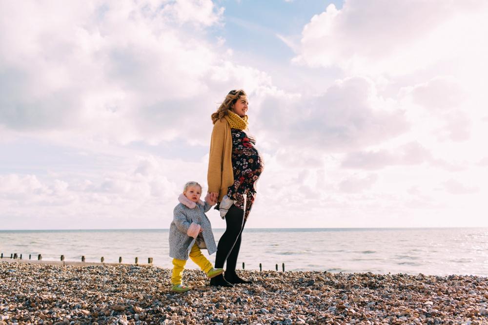 Brighton Beach Family Photography