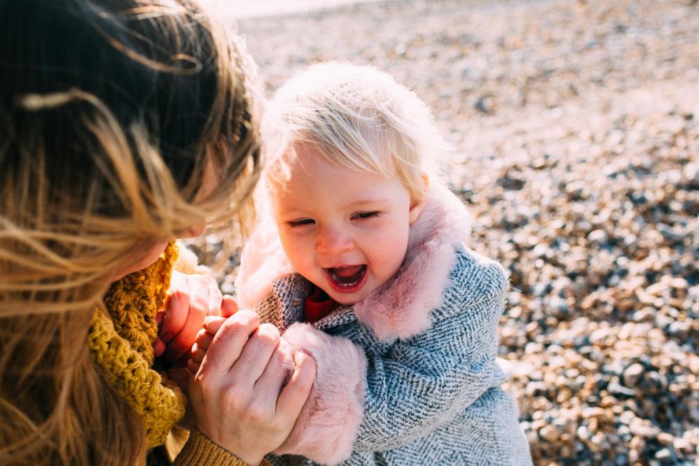 Brighton Beach Family Photo Shoot