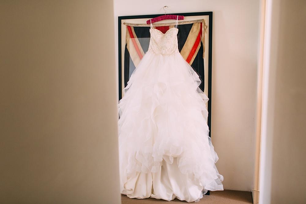 Lewes Castle Wedding Dress