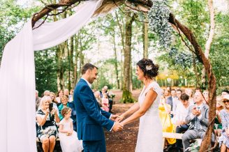 sussex woodland wedding