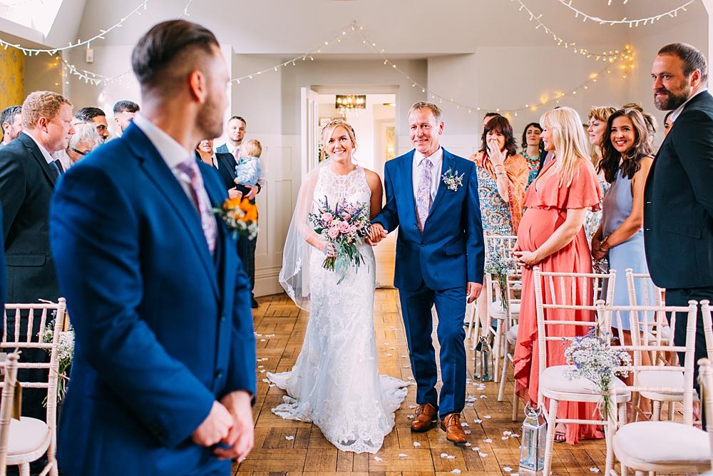 Gildredge Manor Wedding ceremony